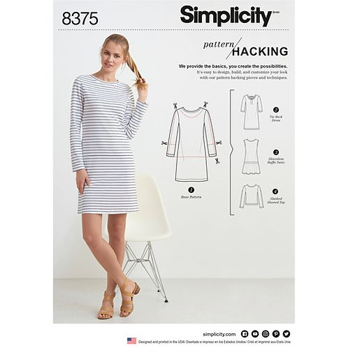 Simplicity 8375 Kreativ - Kleid