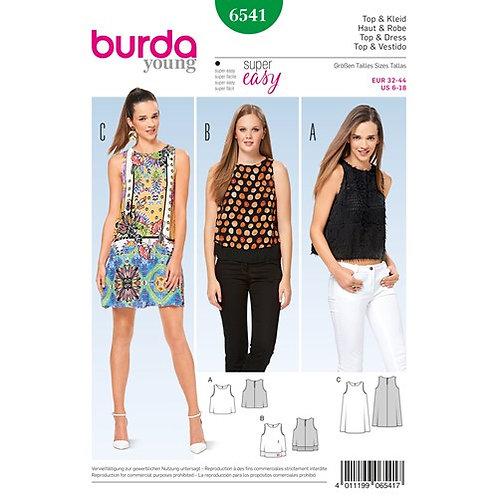 Burda 6541 Hänger - Kleid