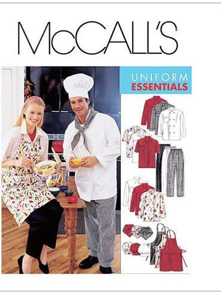 McCall`s M2233 Bäcker/Koch-Berufskleidung