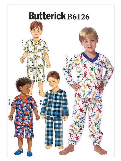 Butterick B6126 Pyjama