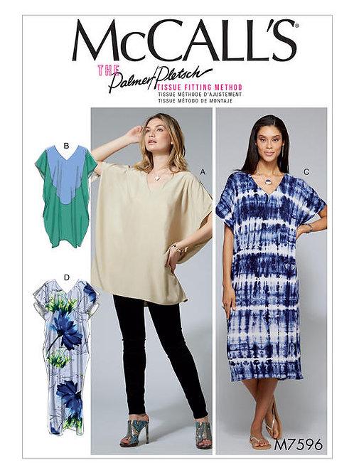 McCall's 7596 legeres Kleid oder Tunika