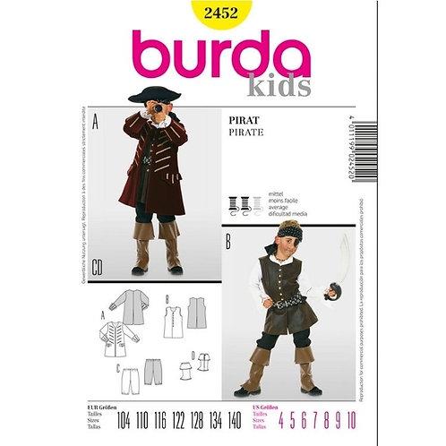 Burda 2452 Pirat