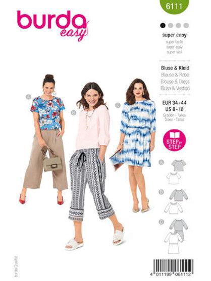 Burda 6111 Shirt/Kleid