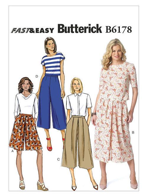 Butterick B6178 Hosenrock