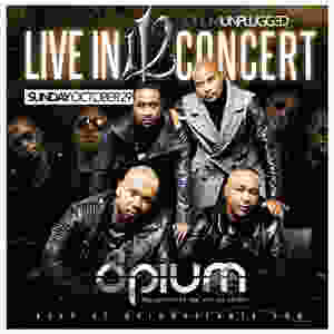 Opium Unplugged: 112 Live in Concert Sunday October 29th at Opium Atlanta