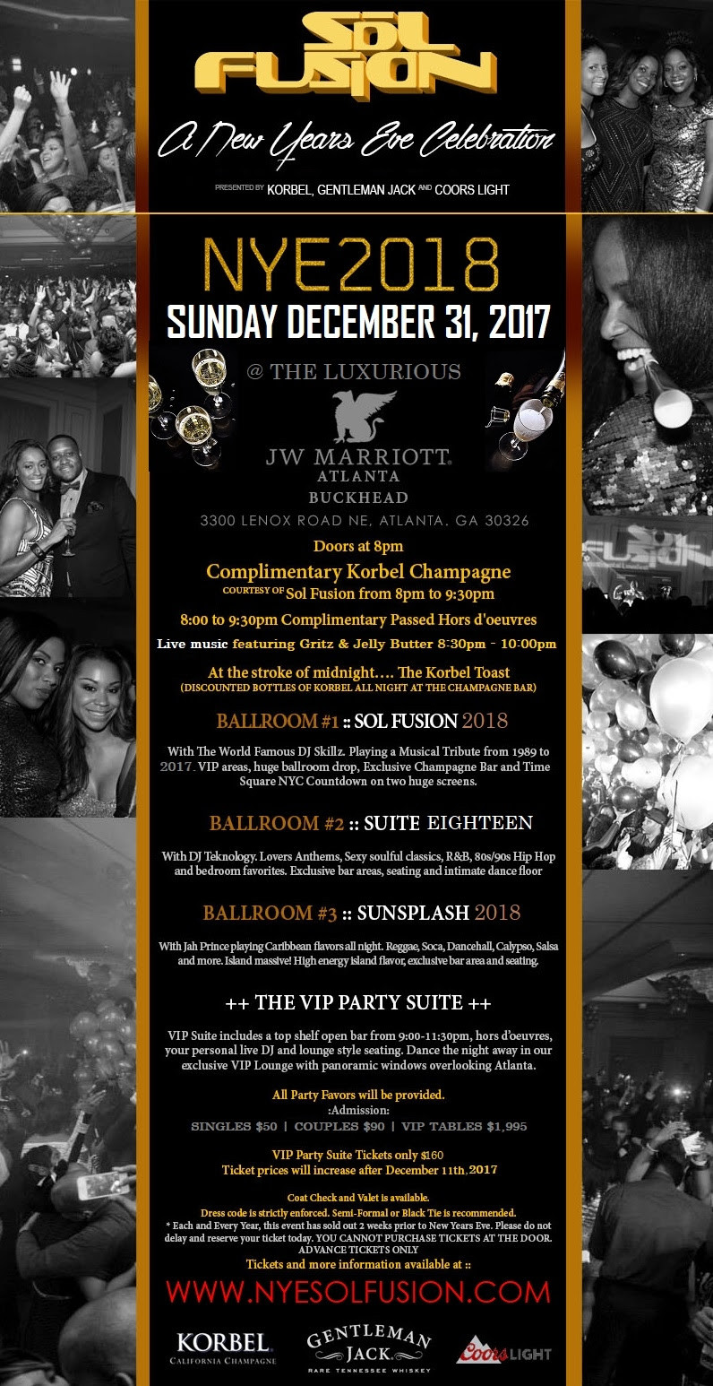 New Years Eve in Buckhead | at the Marriott