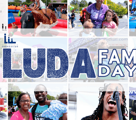 Official LUDAFAMDAY Event Saturday Sept 1, 2018