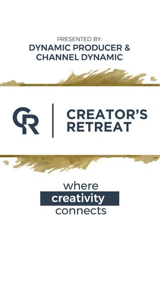CREATOR'S RETREAT IN ATLANTA 11/11/2017
