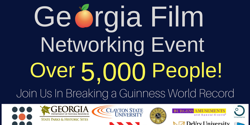 March 5th Georgia Film Networking Event