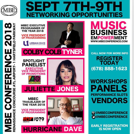 Music Industry Legends Gather in Atlanta for 4th Annual Music Business Empowerment Conference
