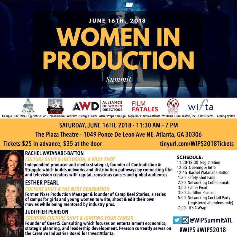 Saturday, June 16, 2018 11:30AM - 7:00PM Summit at 11:30AM | Networking Party at 5:00PM Plaza Theatre | 1049 Ponce De Leon Ave NE, Atlanta, GA 30306