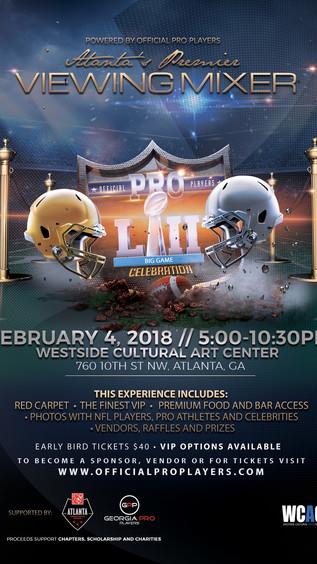 Feb 4th Atlanta's Premier Super Bowl Mixer