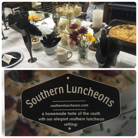 """Southern Luncheons presents """"Tips and Teas"""""""