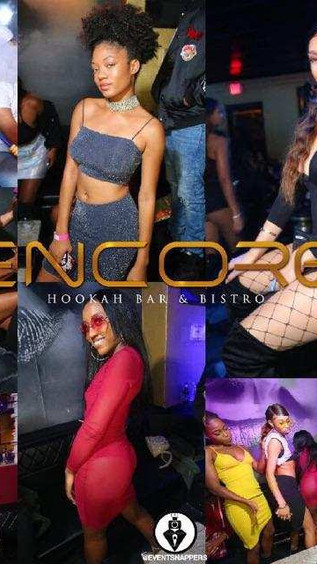 The All New Rendezvous Thursdays @Encore Hookah Bar and Bistro