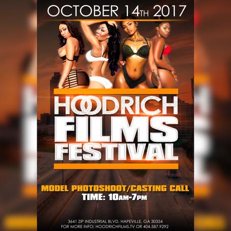 Hoodrich Films Festival October 14th 2017