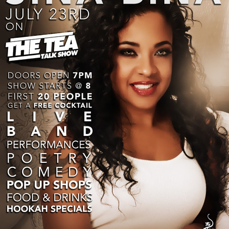 The Tea Talk Show Taping July 23rd