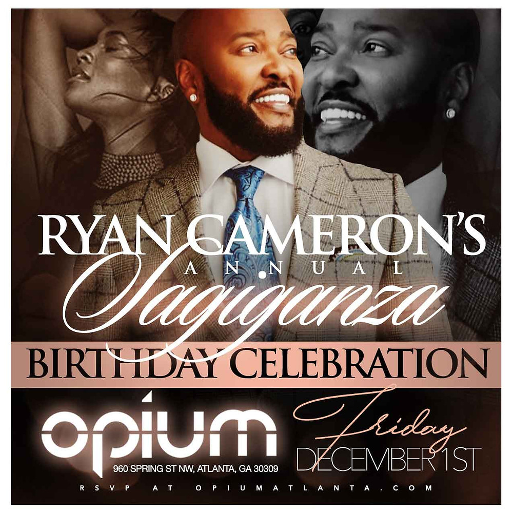 RSVP for Ryan Cameron's Birthday Celebration This Friday Night at OPIUM