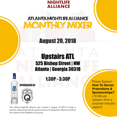 Steed Media Group Launches RollingOut LIVE Podcast @Atlanta Nightlife Alliance Mixer
