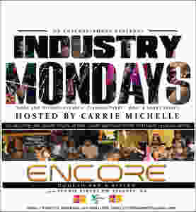 TONIGHT | @IndustryMondaysATL | $10 Hookah