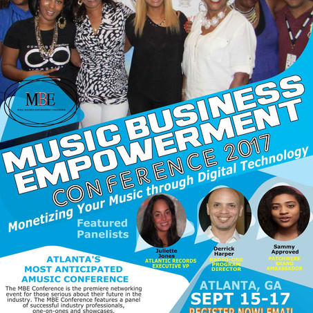 MUSIC BUSINESS EMPOWERMENT CONFERENCE 2017