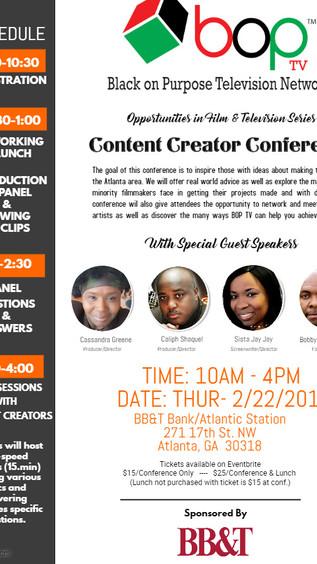BOP TV - Content Creator Conference