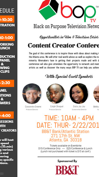 BOP TV - Content Creator Conference