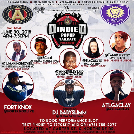 Indie Tailgate returns Saturday, June 30th