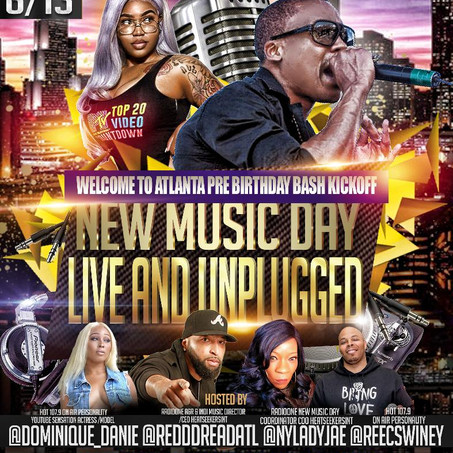 June 13thNew Music Day Live & Unplugged