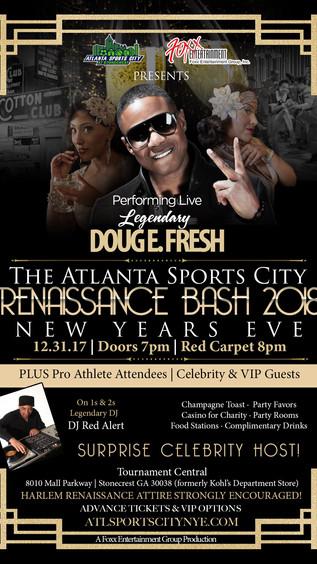 NYE w/ Doug E. Fresh and DJ Red Alert