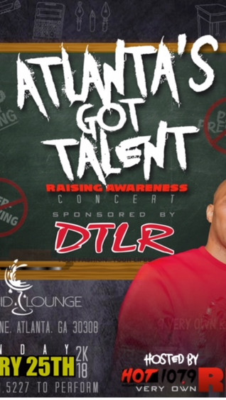 Feb 25th Atlanta's Got Talent Teen Concert with Hot107.9fm & DTLR