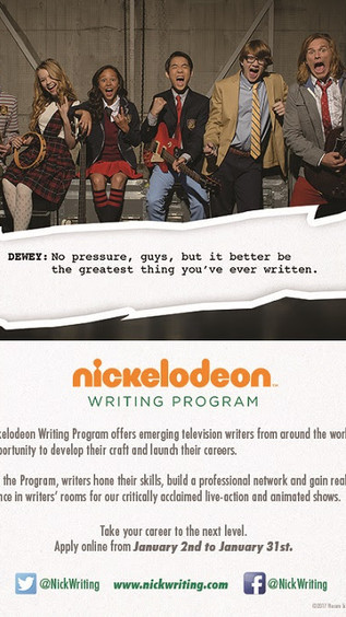 Nickelodeon Submission Period Now Open!