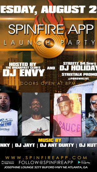 The Breakfast Club's DJ Envy Hosts Spinfire App Launch Partry in Atlanta