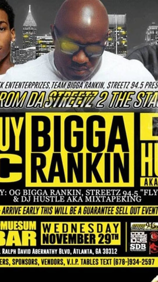 """From the Streetz 2 The Stage"" Hosted by Bigga Rankin x DJ Hustle King x Streetz94.5's"
