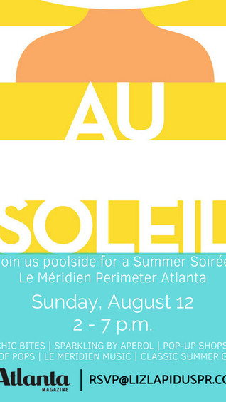 THIS SUNDAY: Au Soleil Pool Party at Le Meridien