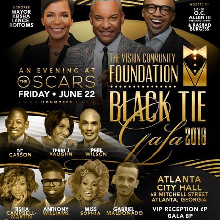 Black Tie Gala w/ Mayor Keisha Lance Bottoms, Tisha Campbell-Martin, Miss Sophia & More on June