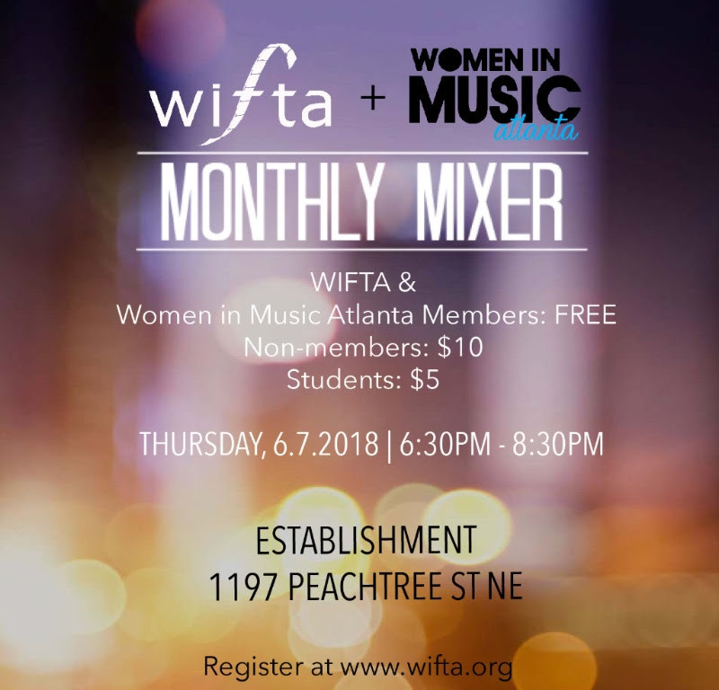Join our mixer with Women in Film & TV Atlanta!