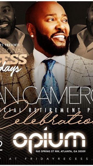 This Friday: The Grand Retirement Celebration for Ryan Cameron