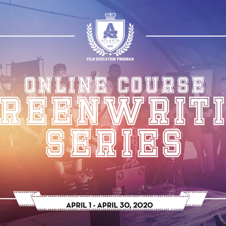 ATLFS The Screenwriting Series with Kathy Berardi (ONLINE COURSE)