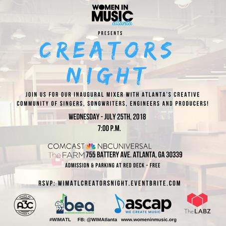 ASCAP joins WOMEN IN MUSICAtlantas' Creators Night!