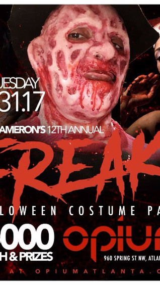 Ryan Cameron's 12th Annual FREAKS Halloween 5K Costume Party