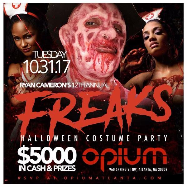 Ryan Cameron's 12th Annual FREAKS Halloween 5K Costume Party