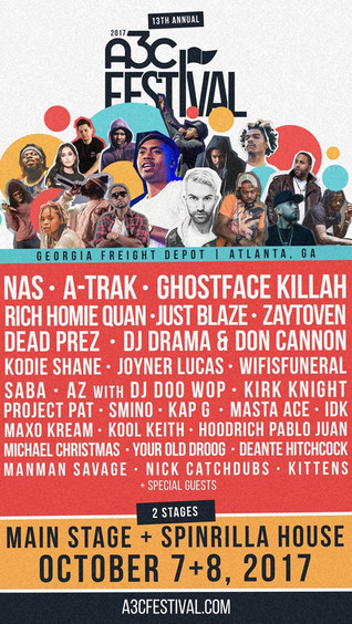 A3C is taking over ATL this week & passes are selling out!