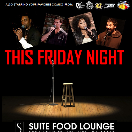 ATL Comedy Fest this Friday @ 8:30 PM