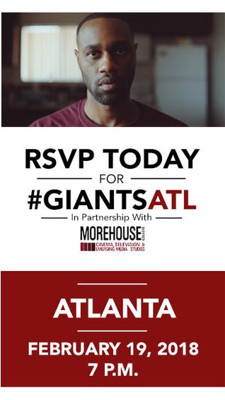 Issa Rae Presents GIANTS Atlanta Screening - Monday, Feb.19 at 7 P.M