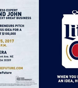YOUR'RE INVITED – Miller Lite Tap the Future Live Pitch
