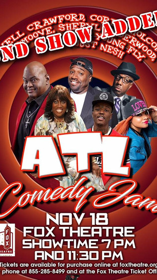 This Saturday | ATL Comedy Jam (7pm & 11pm Show)