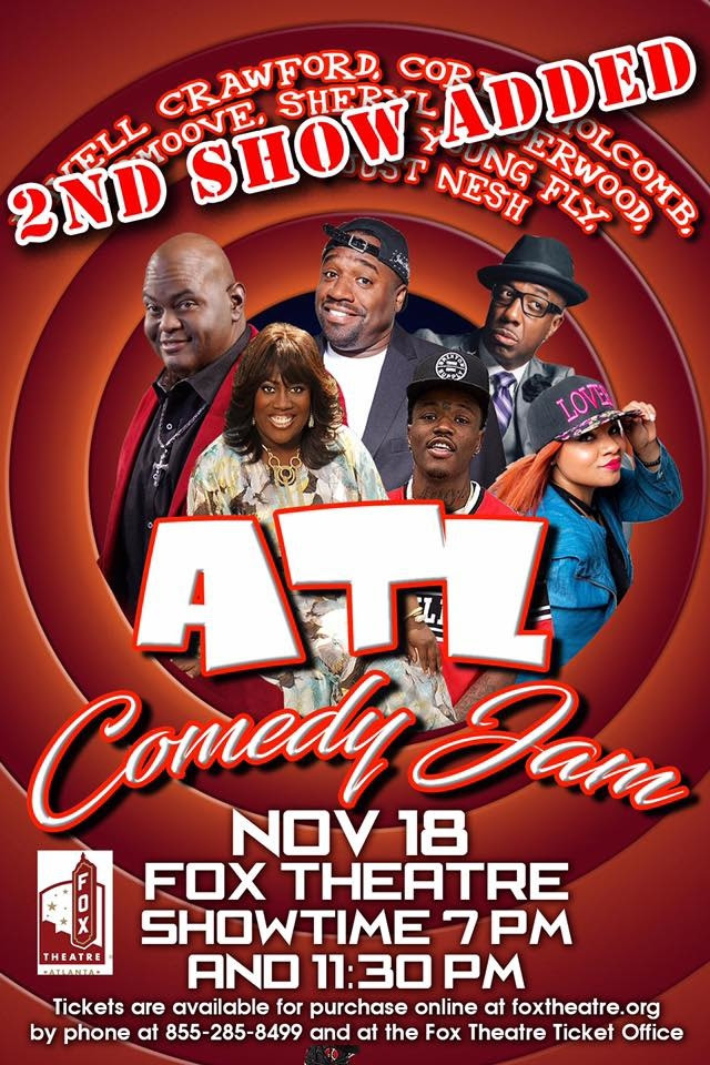 This Saturday | ATL Comedy Jam | 7pm & 11pm