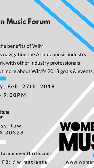 Women in Music Atlanta Forum