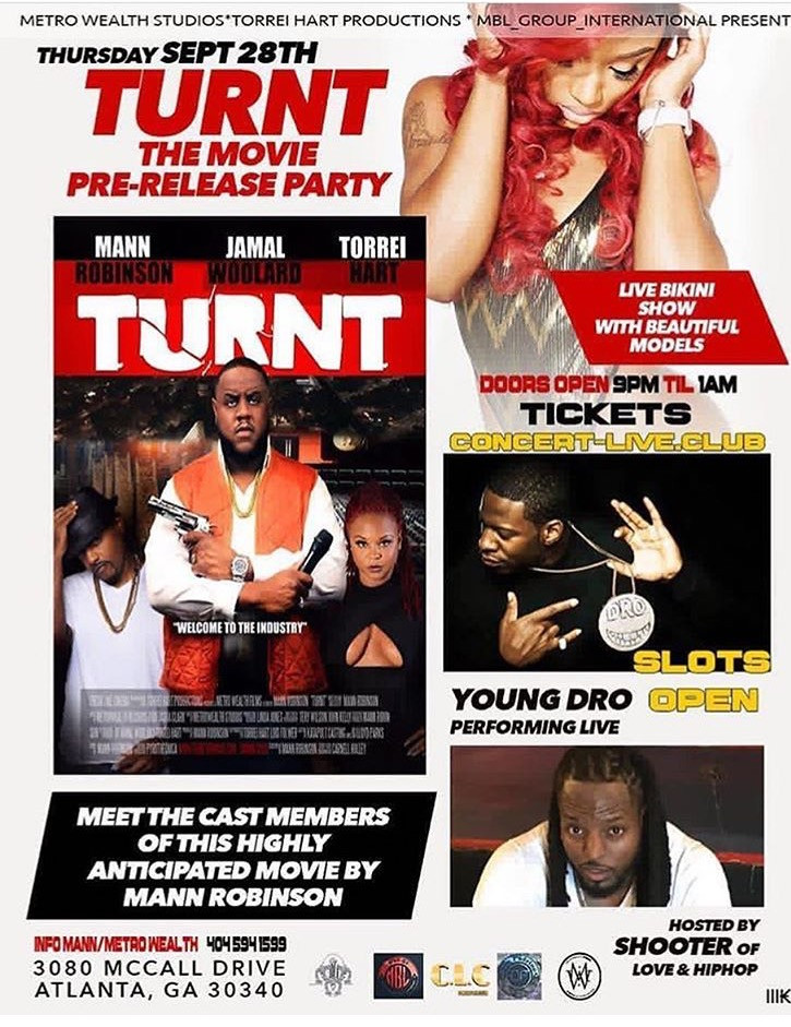 """""""TURNT"""" The Movie Pre-Party"""