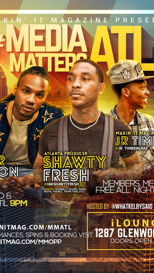 Don't Miss MAKIN IT MAGAZINE'S Media Matters ATL on 10/23